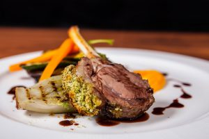 Main lamb dish from Craig FLoate